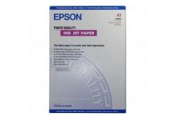 Epson Photo Quality InkJet Paper, foto papír, matný, bílý, A3, 105 g/m2, 720dpi, 100 ks, C13S04