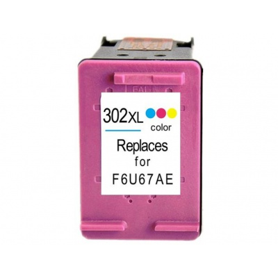 HP 302XL F6U67AE farebná (color) kompatibilna cartridge