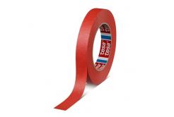 Tesa 4328, červená krepová maskovací páska, 19 mm x 50 m