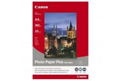 Canon Photo Paper Plus Semi-Glossy, foto papír, pololesklý, saténový, bílý, A4, 260 g/m2, 20