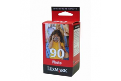Lexmark č. 90 12A1990E foto farebná (photo color) originálna cartridge