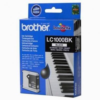 Brother LC-1000BK čierna (black) originálna cartridge