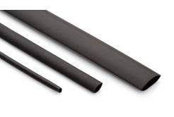 Partex smršťovací bužírka HSDW 3 -6, 3:1, 2,0-6,0 mm, 1,2 m, černá