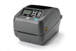 Zebra ZD500 ZD50042-T1EC00FZ tlačiareň etikiet, 8 dots/mm (203 dpi), odlepovač, RTC, ZPLII, BT, Wi-Fi, multi-IF (Ethernet)