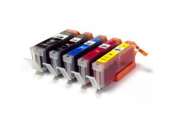 Canon CLI-551 Bk, C,M,Y + PGI-550Bk multipack kompatibilná cartridge