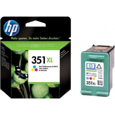 HP 351XL CB338E farebná (color) originálna cartridge