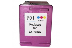 HP 901XL CC656A farebná (color) kompatibilna cartridge