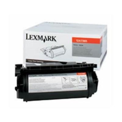 Lexmark 12A7365 čierný (black) originálny toner