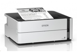 Epson tiskárna ink EcoTank Mono M1170, A4, 1200x2400dpi, 39ppm, USB, Duplex, 3 roky záruka po registraci