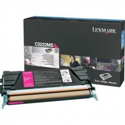 Lexmark C5222MS purpurový (magenta) originálny toner