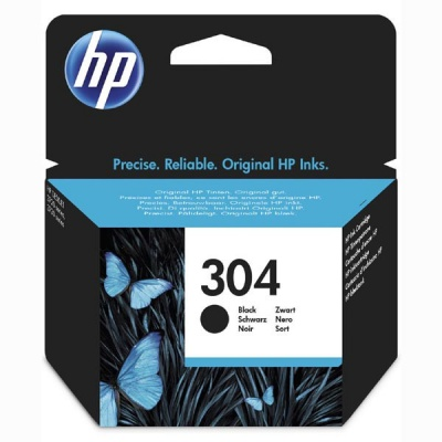 HP 304 N9K06AE čierna (black) originálna cartridge