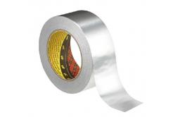 3M 1436 Hliníková lepicí páska s papírovým podkladem, tl. 0,075 mm, 50 mm x 50 m