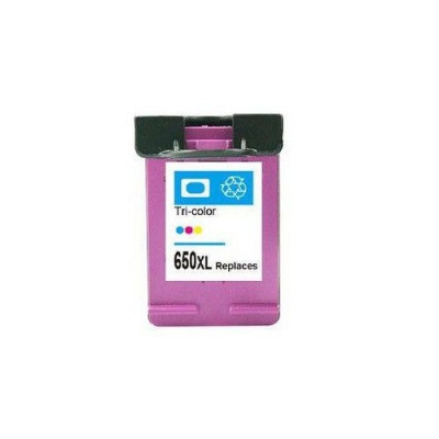 HP 650 XL CZ102A farebná (color) kompatibilna cartridge