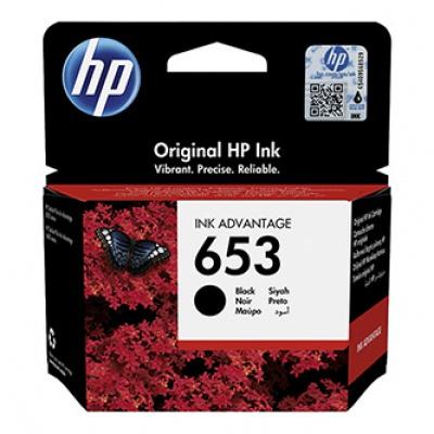 HP originální ink 3YM75AE, HP 653, black, HP