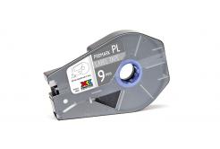 Partex PROMARK-PL090CN8, stříbrná samolepicí páska, 9mm, 27m