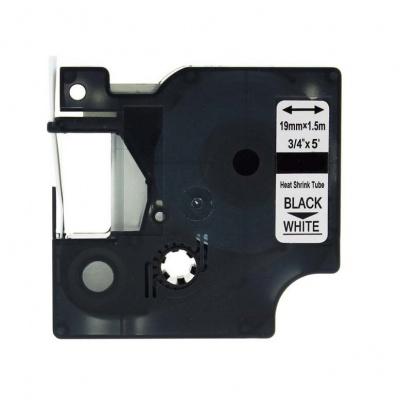 Kompatibilná páska s Dymo 18057, S0718330, Rhino, 19mm x 2,5m čierna tlač / biely podklad