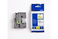 Brother TZ-S131 / TZe-S131, 12mm x 8m, čierna tlač/čirý podklad, originálna páska