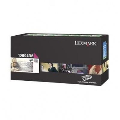 Lexmark 10B042M purpurový (magenta) originálny toner