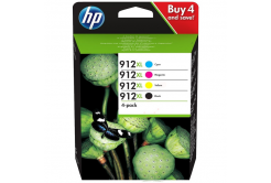 HP 912XL 3YP34AE Bk+C+M+Y multipack originálna cartridge
