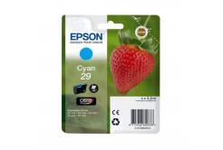 Epson T29824022, T29 azúrová (cyan) originálna cartridge
