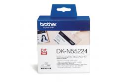 Brother DK-N55224, 54mm x 30,48m, nelepiace, originálna papierová role