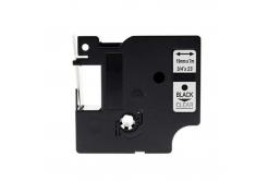 Kompatibilná páska s Dymo 45800, S0720820, 19mm x 7m, čierna tlač/prieladný podklad