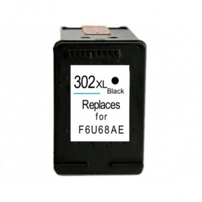 HP 302XL F6U68AE čierna (black) kompatibilna cartridge