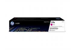 HP 117A W2073A purpurový (magenta) originální toner
