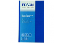 Epson Traditional Photo Paper, foto papír, saténový, bílý, A2, 330 g/m2, 25 ks, C13S045052, in
