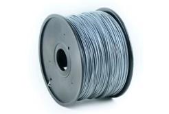 Gembird 3DP-ABS1.75-01-S tlačová struna (filament) ABS, 1,75mm, 1kg, strieborná