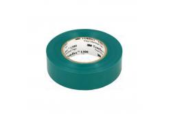 3M Temflex 1300 Elektroizolační páska, 15 mm x 10 m, zelená