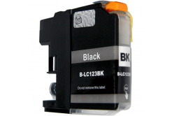 Brother LC-123 čierna (black) kompatibilná cartridge