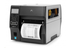 Zebra ZT420 ZT42062-T4E0000Z tlačiareň etikiet, 8 dots/mm (203 dpi), odlepovač,navíječ,RTC,display,EPL,ZPL,ZPLII,USB,RS232,BT,Ethernet