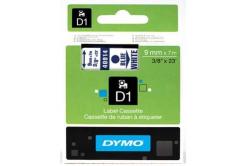 Dymo D1 40914, S0720700, 9mm x 7m, modrá tlač / biely podklad, originálna páska