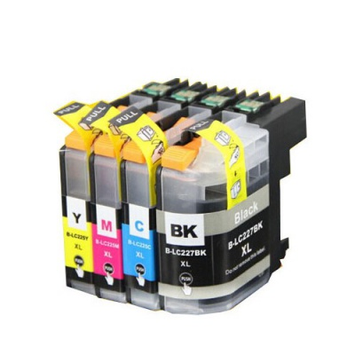 Brother LC-225XL/LC-227XL multipack kompatibilní cartridge