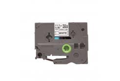Kompatibilná páska s Brother HSe-231, 11,7mm x 1,5m, čierna tlač / biely podklad