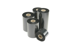 Honeywell Intermec I90163-0 thermal transfer ribbon, TMX 2010 / HP06 wax/resin, 64mm, 10 rolls/box, black