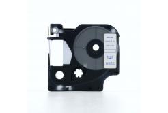 Kompatibilná páska s Dymo 45804, 19mm x 7m, modrá tlač / biely podklad