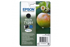 Epson originálna cartridge C13T12914012, T1291, black, 385 str., 11,2ml, Epson Stylus SX420W, 425W, Stylus Office BX305F, 320FW
