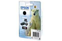 Epson originálna cartridge C13T26214022, T262140, 26XL, black, 12,2ml, Epson Expression Premium XP-800, XP-700, XP-600