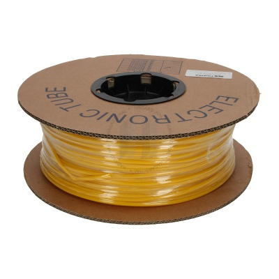 Popisovacia PVC bužírka kruhová BA-25Z, 2,5 mm, 200 m, žltá