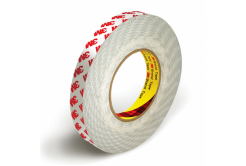 3M 9088-200 Oboustranně lepicí páska, 6 mm x 50 m, tl. 0,20 mm (červené logo)
