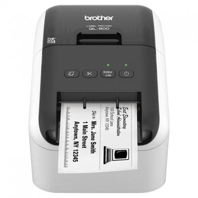 Brother QL-800 QL800YJ1 tlačiareň samolepiacich štítkov