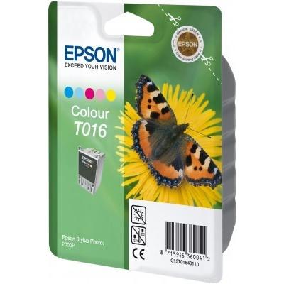 Epson T016401 farebná (color) originálna cartridge