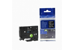 Kompatibilná páska s Brother TZ-335 / TZe-335, 12mm x 8m, biela tlač / čierny podklad