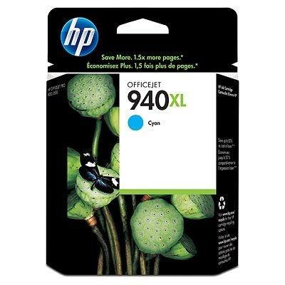 HP C4907AE 940XL azurová (cyan) originální cartridge, prošlá expirace