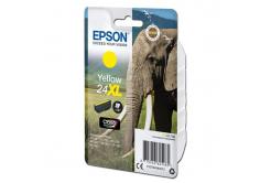 Epson originálna cartridge C13T24344012, T2434, 24XL, yellow, 8,7ml, Epson
