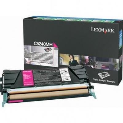 Lexmark C5240MH purpurový (magenta) originálny toner