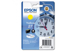 Epson originálna cartridge C13T27044012, 27, yellow, 3,6ml, Epson WF-3620, 3640, 7110, 7610, 7620