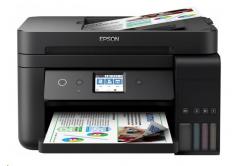 Epson tiskárna ink EcoTank L6190, 4v1, A4, 33ppm, Ethernet, Wi-Fi (Direct), Duplex, LCD, ADF, 3 roky záruka po reg.